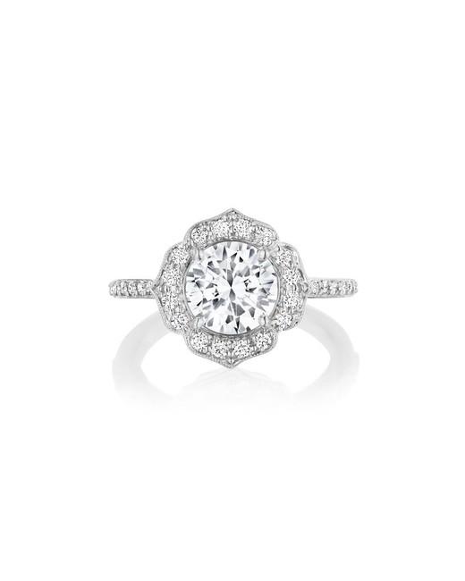 Penny Preville Floral Bridal Ring
