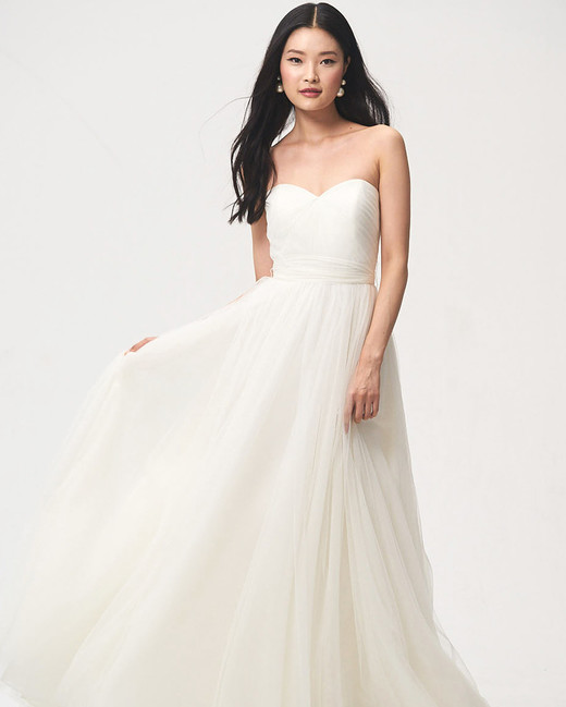 jenny by jenny yoo fall 2018 sweetheart a-line wedding dress