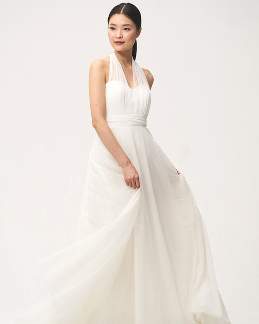 jenny by jenny yoo fall 2018 sweetheart halter wedding dress