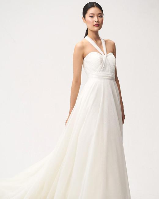 jenny by jenny yoo fall 2018 halter sweetheart wedding dress