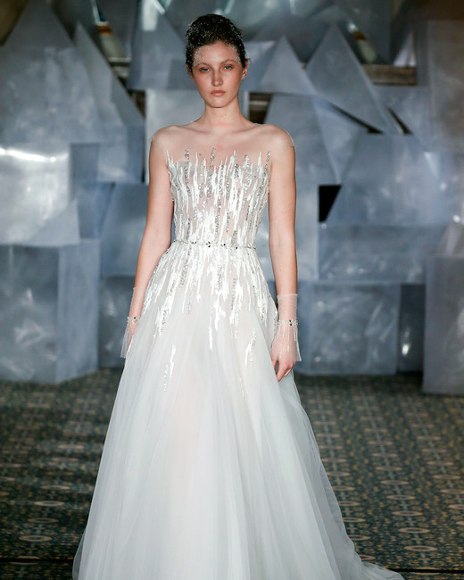mira zwillinger wedding dress spring 2019 tulle a-line bodice beadwork