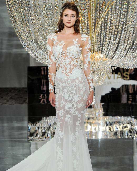 Pronovias Fall 2018 Wedding Dress Collection | Martha Stewart Weddings