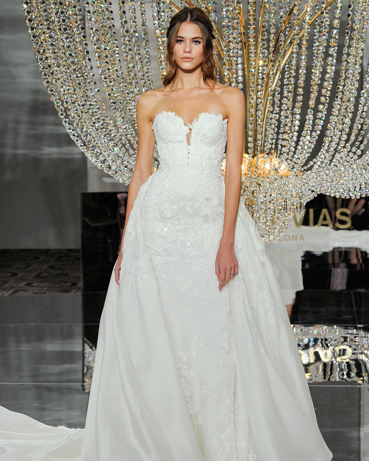 pronovias wedding dress fall 2018 sweetheart ball gown