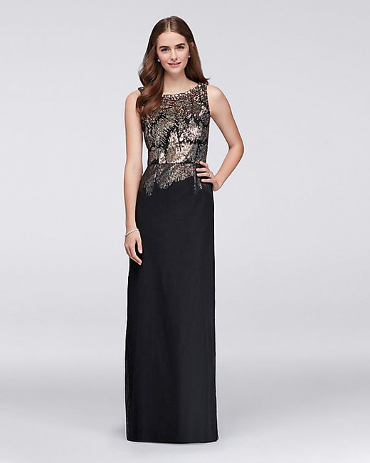 Wonder by Jenny Packham Beaded Gown
