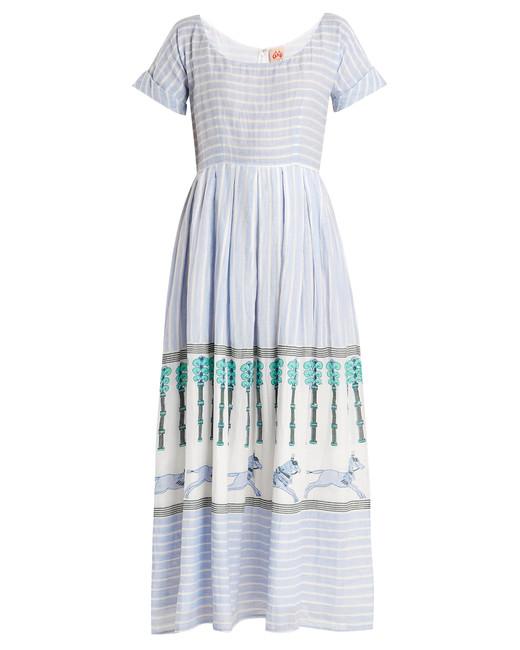 """Le Sirenuse Positano """"Nola Horse and Palms"""" Maxi Dress"""