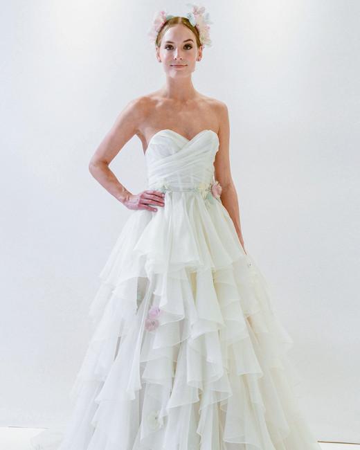 Randy Fenoli Spring 2018 Wedding Dress Collection | Martha Stewart ...