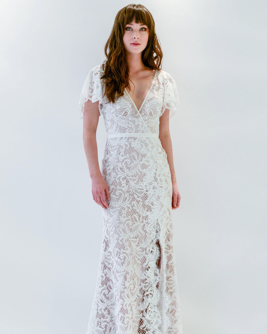 Willowby by Watters v-neck wedding dress spring 2018