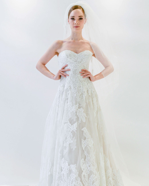 watters strapless sweetheart wedding dress spring 2018