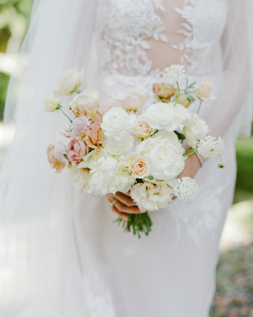 addie richard wedding japan bouquet