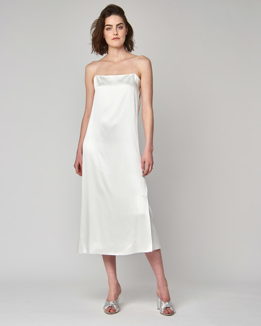 alexandra grecco wedding dress spring 2019 spaghetti strap tea length sheath