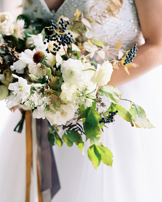 brittany alex wedding brides bouquet
