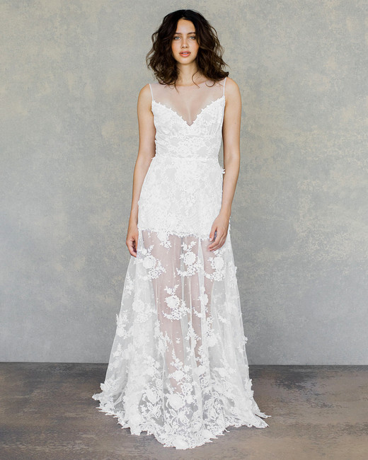 Claire Pettibone Spring 2019 Wedding Dress Collection Martha