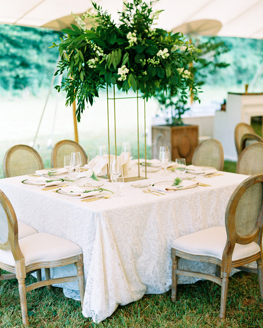 dani jackson wedding reception table