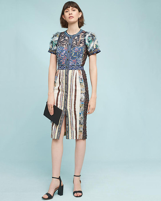 cap sleeve dress print