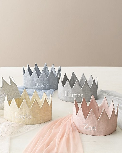 flower girl gift guide rh baby and child metallic linen crown