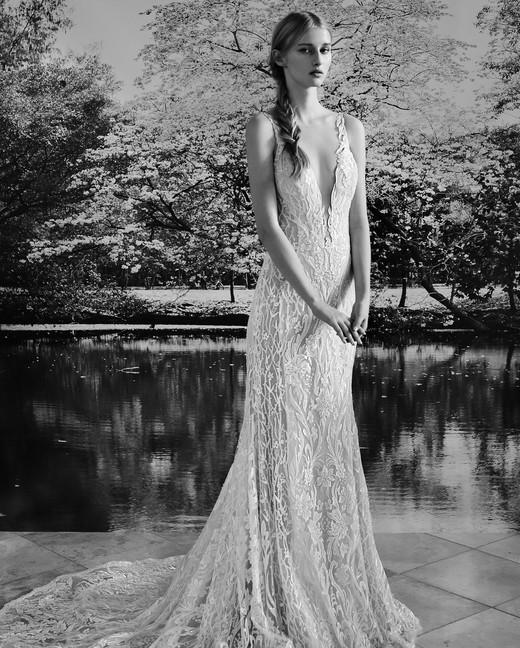 Gala by Galia Lahav v-neck wedding dress fall 2019