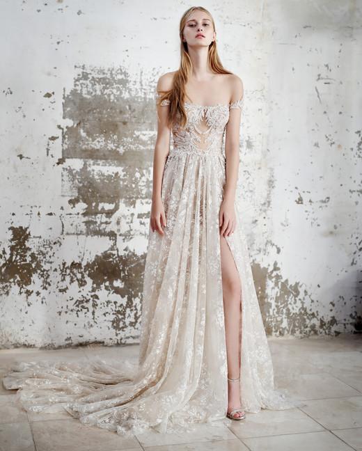 Gala by Galia Lahav off the shoulder wedding dress fall 2019