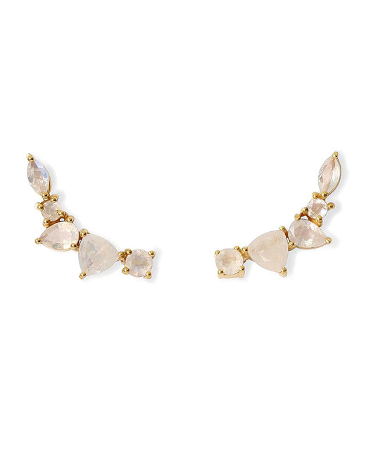 "Leah Alexandra ""Wing"" Earrings"