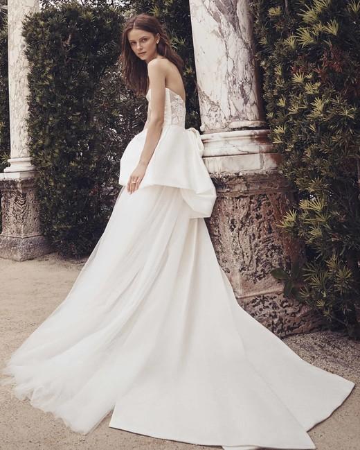 c651943d1767 Monique Lhuillier Spring 2020 Wedding Dress Collection | Martha ...