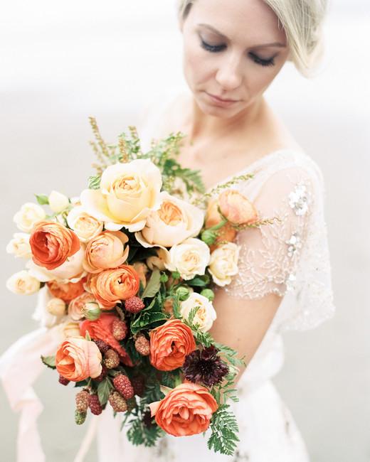 Orange Gradient bloom bouquet