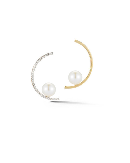 pearl wedding earrings mateo new york