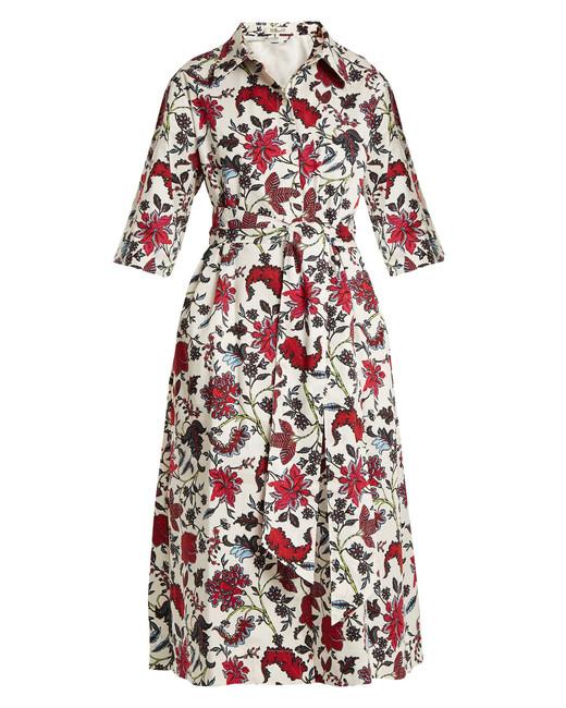 """Diane Von Furstenberg """"Canton"""" Printed Dress"""