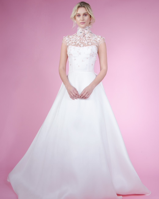 angel sanchez spring 2018 wedding dress