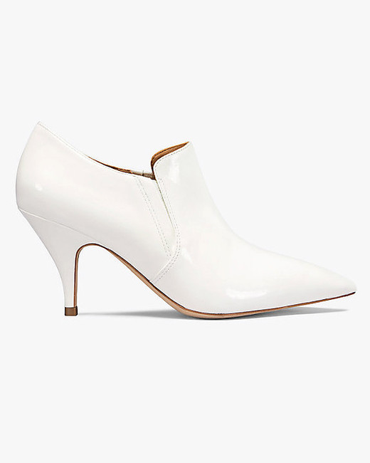 white bridal booties tory burch georgina patent