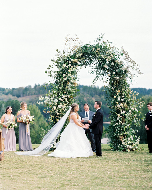 brittany alex wedding outdoor ceremony