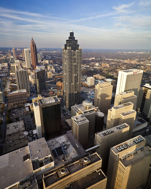 city honeymoon destinations atlanta cityscape