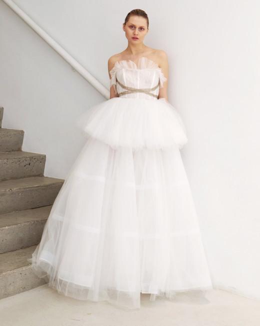 francesca miranda wedding dress spring 2019 tulle ball gown