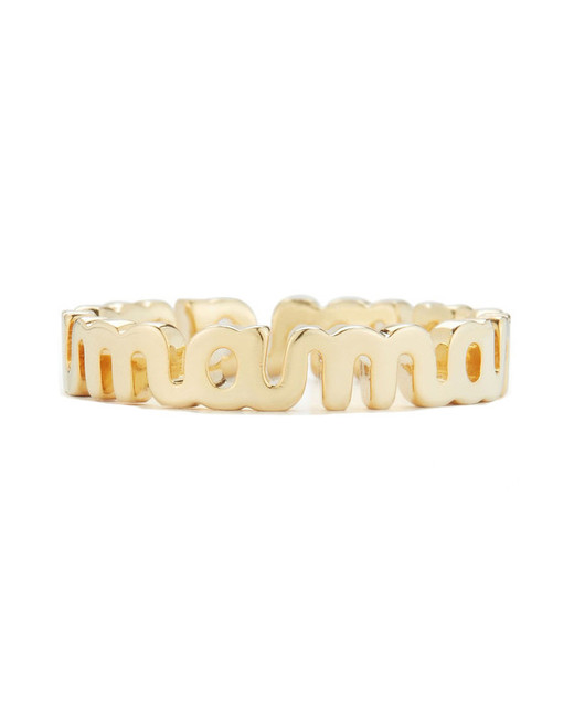 gifts for mom gold mama ring