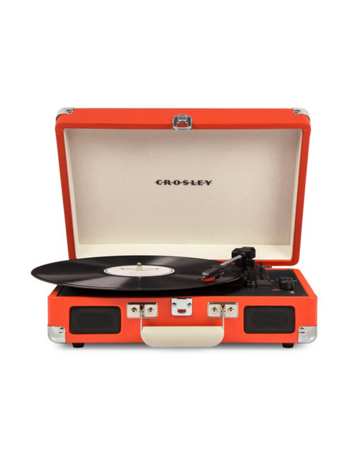 "Crosley ""Cruiser Deluxe"" Portable Turntable"