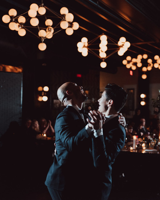 grooms first dance wedding reception