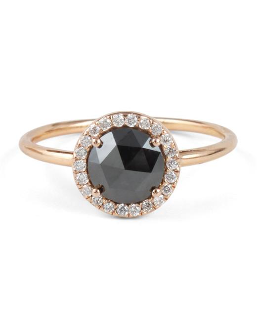 Blanca Monrós Gómez Black Diamond Aura Ring