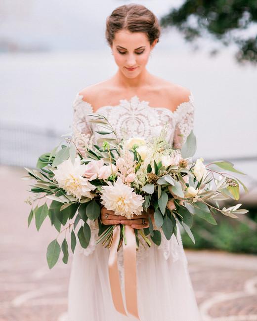 heat resistant bouquets blush hued rose