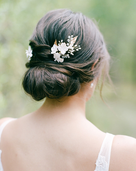 Updo Hairstyles For Wedding Guests: 55 Simple Wedding Hairstyles That Prove Less Is More