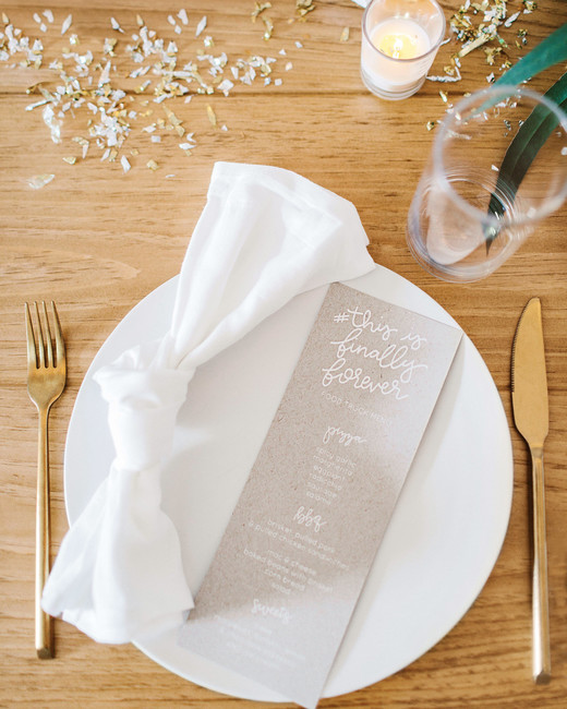 sara ryan wedding philadelphia menus