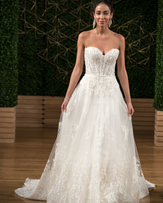 sottero midgley wedding dress fall 2018 sweetheart lace a-line