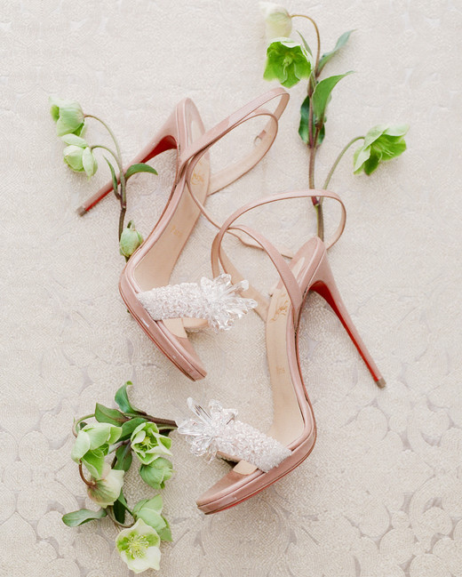 suzanne joseph wedding shoes corbin gurkin