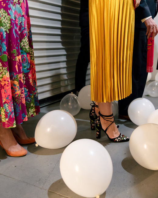 tashina huy colorful wedding balloons