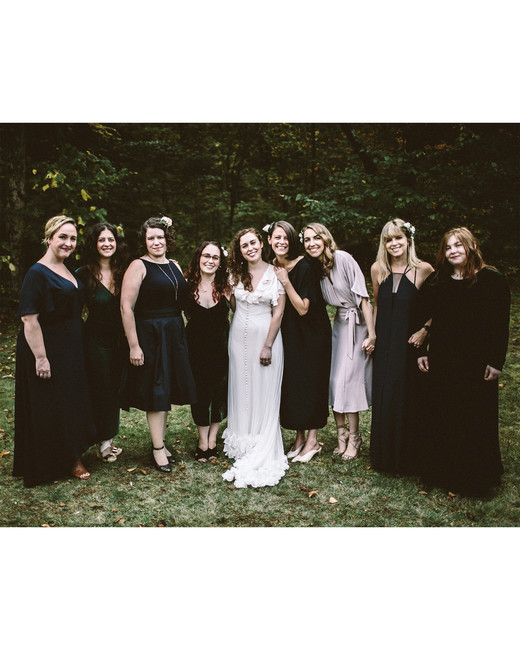 angie reed wedding bridesmaids