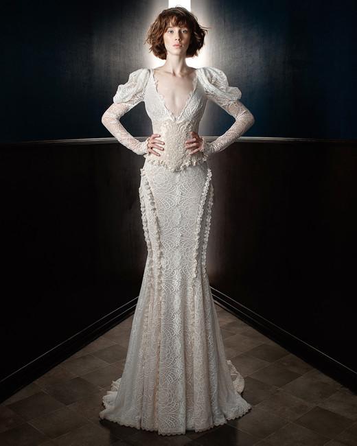 LongSleeve Wedding Dresses We Love Martha Stewart Weddings