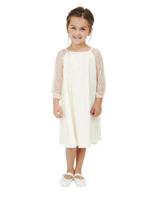 lace flower girl dresses knee-length joanna august