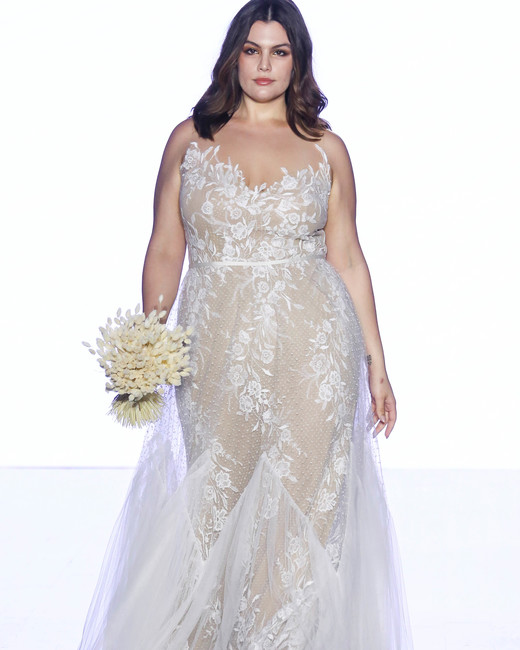 willowby by watters floral applique strapless wedding dress spring 2020