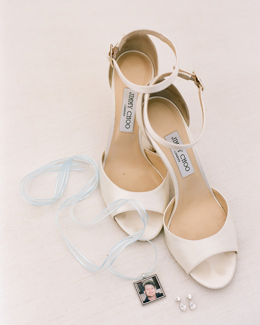 ashlie adam alpert wedding shoes charm necklace