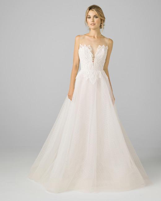 4167e0bb384b Azul by Liancarlo Fall 2018 Wedding Dress Collection | Martha ...