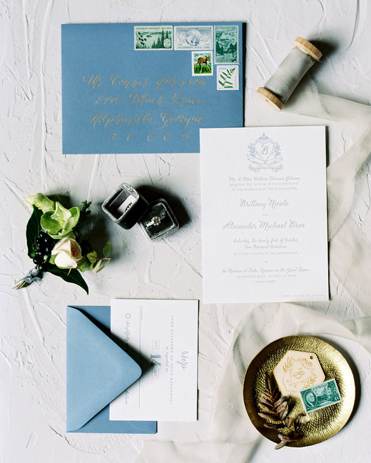 brittany alex wedding invitation
