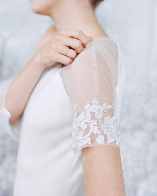 wedding dress sleeves