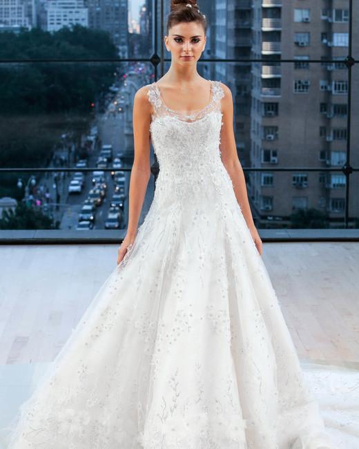ines di santo wedding dress fall 2018 sleeveless beaded a-line